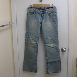 EUC Express X2 slim W10 boot cut jeans 2 short 2 S
